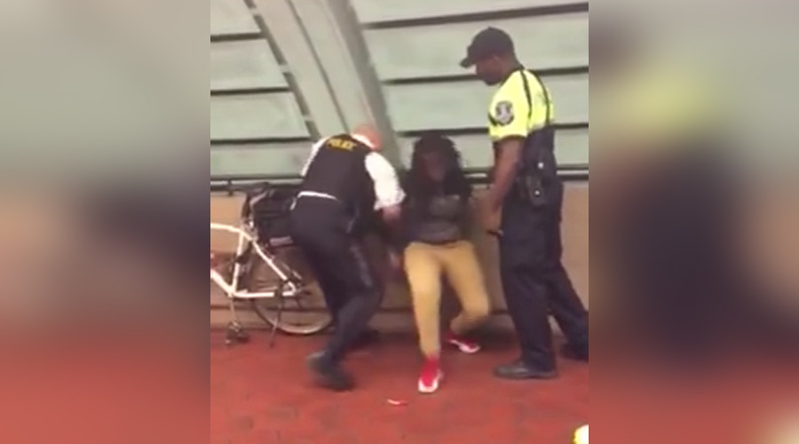 DC transit cop arrests, knocks down black teen over lollipop & chips [VIDEO]