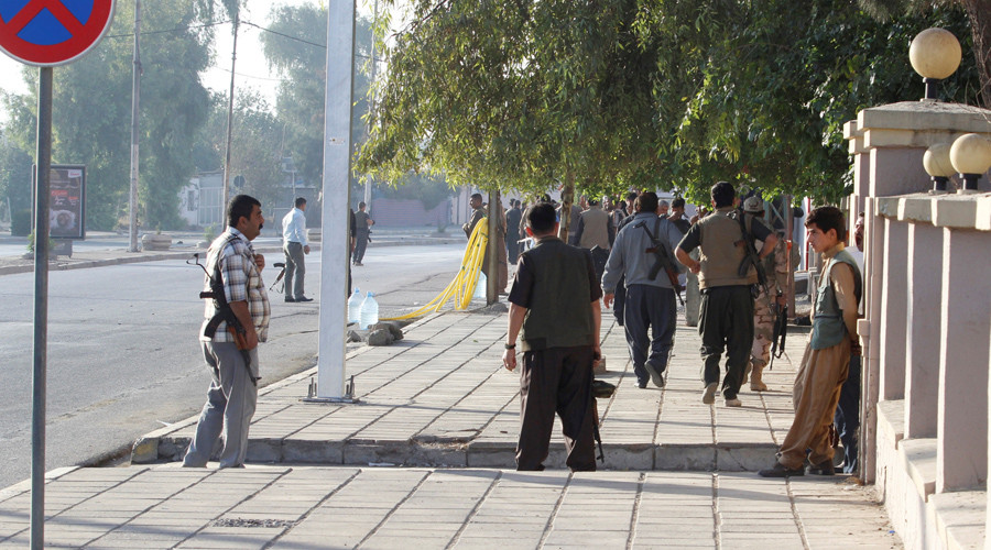 ISIS fighters enter Kirkuk mosques, kindergarten, take civilians hostage – report