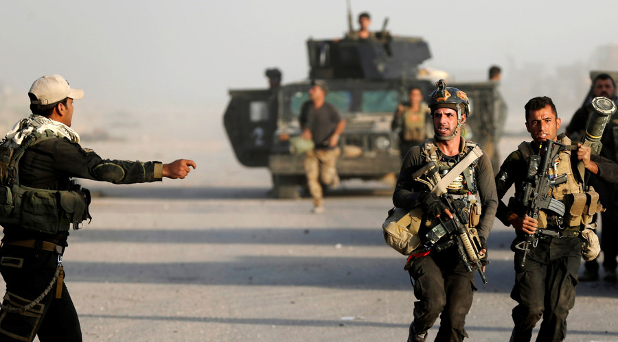 Iraqi army repels attack in Kirkuk, moves on ISIS-held Christian town amid Mosul offensive