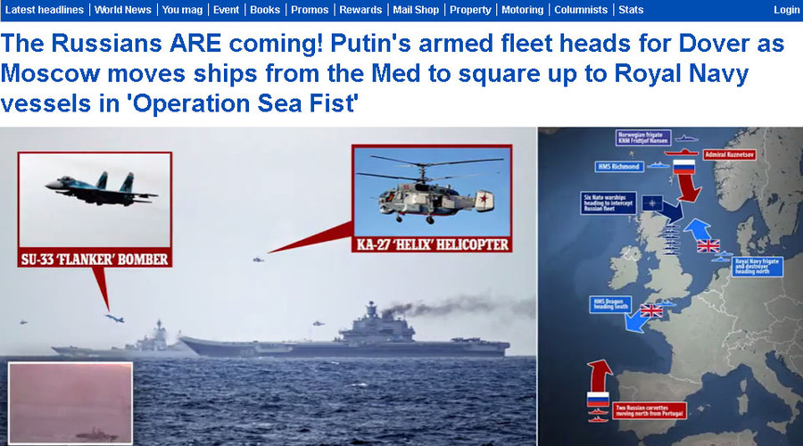 Battle Stations! Putin's fearsome fleet locked, loaded & ready for war with Britain… or not
