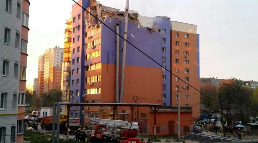 3 dead, 13 injured, 2 floors devastated: Gas explosion causes havoc in central Russia (PHOTO, VIDEO)
