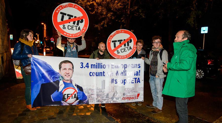 Belgium given Monday deadline as EU-Canada CETA trade deal hangs in balance