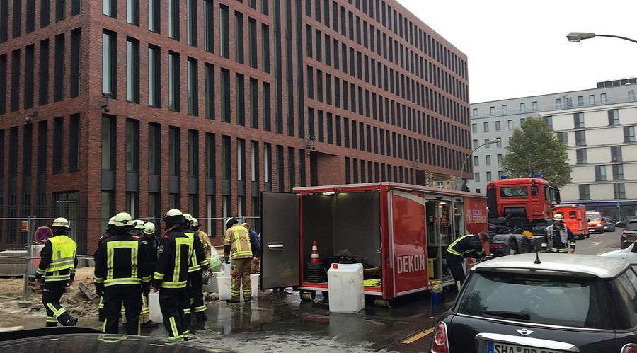German spy agency's new building in Berlin evacuated due to acid fumes – reports