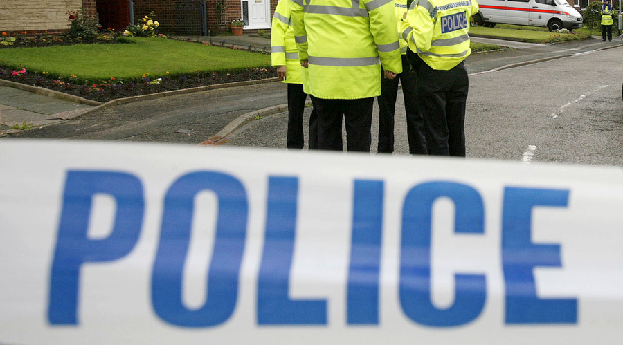 Police officer fighting for life after being 'dragged along road in hit & run'