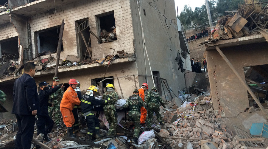 7 dead, 95 injured in huge blast in town in northwest China (PHOTOS)