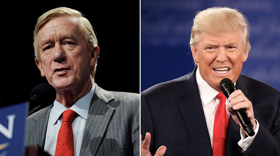 Libertarian Party VP insults Trump, practically endorses Clinton