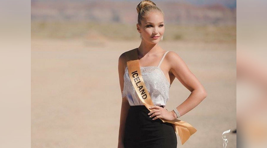 "Miss Iceland quits after being told she has ""too much fat"""