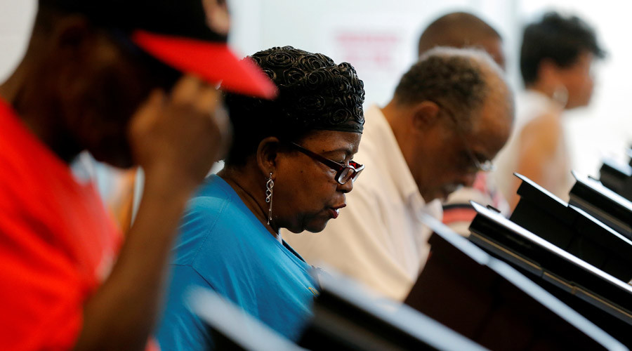 NAACP complains as black centenarian purged from voter rolls