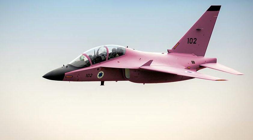 Israeli jet painted pink for breast cancer awareness, slated for denying Gaza medical treatment