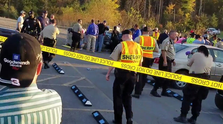 Vehicle plows into 22 NASCAR fans in parking lot after Virginia race