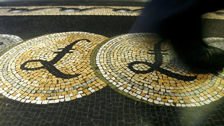'Hard' Brexit worries push British pound to three-decade low