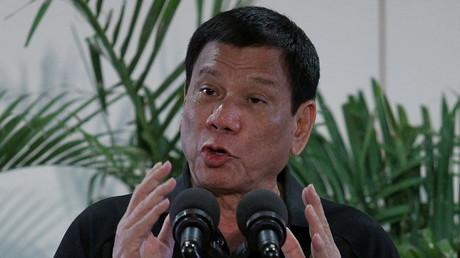 Philippines President Rodrigo Duterte. ©Lean Daval Jr