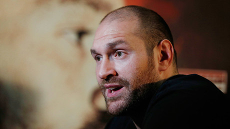 Tyson Fury © Lee Smith