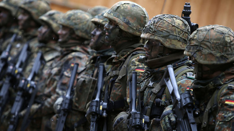 German Bundeswehr army soldiers © Michaela Rehle