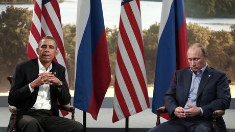 U.S. President Barack Obama (L), Russian President Vladimir Putin (R) © Kevin Lamarque