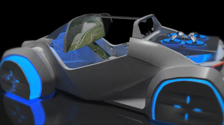 Eye in the sky: Autonomous 3D printed car comes with scout drone surveillance (VIDEO)