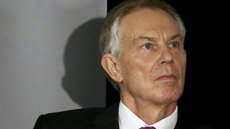 Former British Prime Minister Tony Blair © Bria Webb
