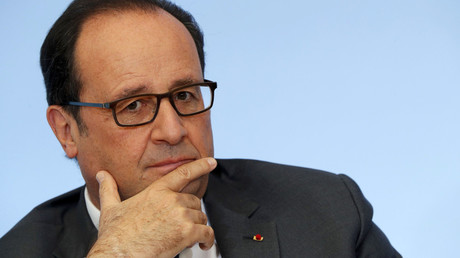 French President Francois Hollande © Philippe Wojazer