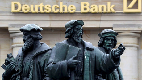 Germany's blue-chip firms rally behind Deutsche Bank