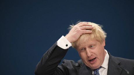 Britain's Foreign Secretary Boris Johnson © Toby Melville