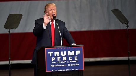 U.S. Republican presidential nominee Donald Trump © David Becker