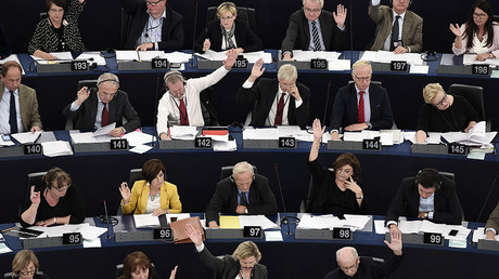EU Parliament promotes democratic values by lumping journalists in with terrorists