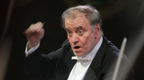 Conductor Valery Gergiyev. ©Sergey Mamontov