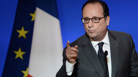 French President Francois Hollande. © Stephane De Sakutin