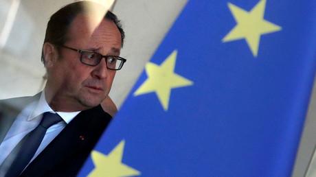 French President Francois Hollande © Philippe Wojazer