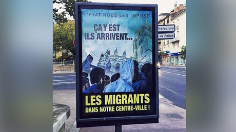 'They're coming!' Far-right French mayor draws fire with posters warning of migrants' arrival