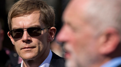 Britain's Labour Party's Executive Director of Strategy and Communications Seumas Milne © Justin Tallis
