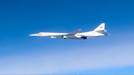 A Tupolev Tu-160 supersonic strategic bomber © Ministry of defence of the Russian Federation