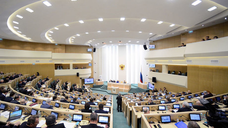 Top Russian senator rules out leaving Council of Europe