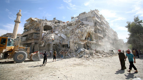 Russian & Syrian military to organize 8-hour 'humanitarian pause' in Aleppo on Oct. 20