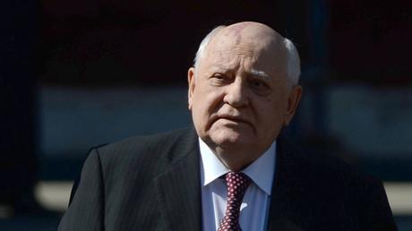 Former USSR President Mikhail Gorbachev © Grigoriy Sisoev