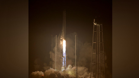 Orbital's Antares rocket launches for first time since 2014 explosion