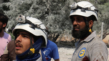 'We don't hide it': White Helmets openly admit being funded by Western govts