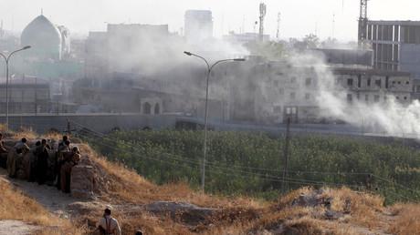 15 women killed, dozens more wounded in air raid on shrine near Kirkuk – report