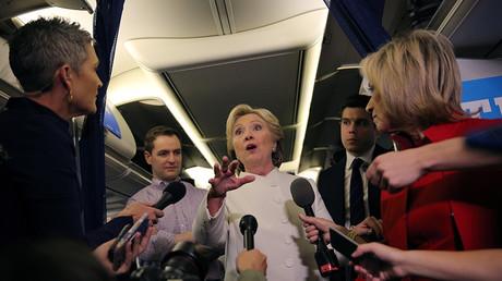Democratic U.S. presidential candidate Hillary Clinton © Carlos Barria