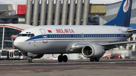 Belavia's Boeing 737  © Andrey Rudakov