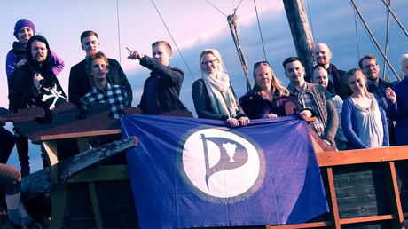 Members of the Icelandic Pirate Party  © Píratar
