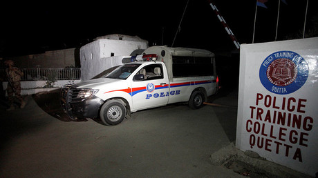 59 killed, dozens injured in attack on Pakistani police training center