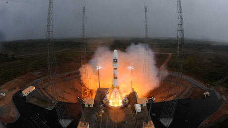Russia's Roscosmos threatens to halt rocket supplies to French company over frozen assets
