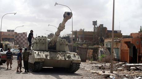 Boris Johnson hosts crisis talks with Libyan PM as Tripoli's authority crumbles