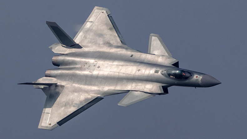 China unveils advanced J-20 stealth fighter in fly over at air show (VIDEOS)
