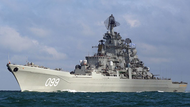 Russian battle group reaches Mediterranean after 'causing stir' in the West (VIDEO)