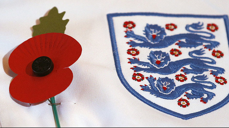 FIFA refuses to allow British teams wear 'political' poppy on shirts
