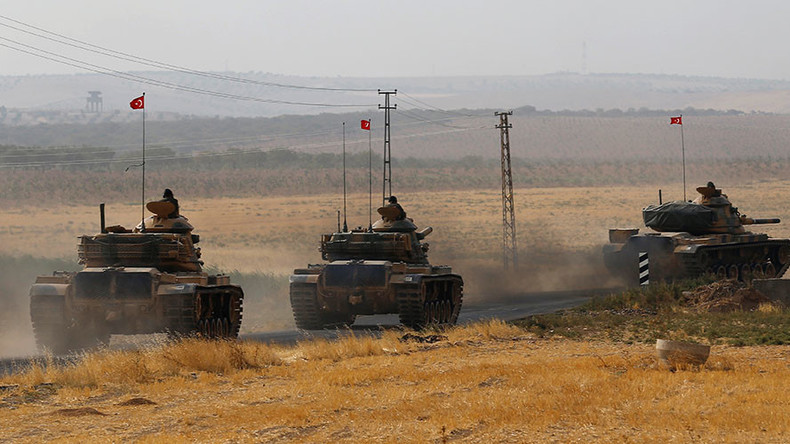 Turkey reportedly amasses tanks, troops near border to Iraq, vows to tackle 'threat'