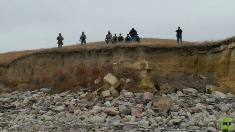 National Guard threatens Dakota Access protesters with arrest on public lands