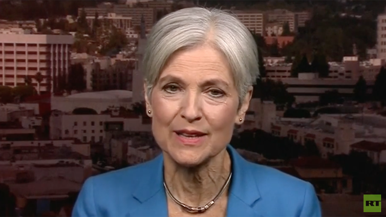 America to choose either 'proto-fascist' or 'corruption queen' – Jill Stein to RT (VIDEO)